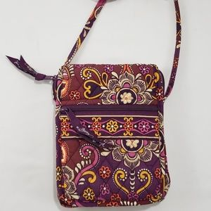 Vera Bradley Paisley Print Small Crossbody Purse